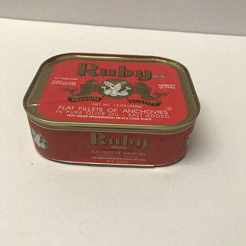 Ruby Anchovies(13 Oz) Tin