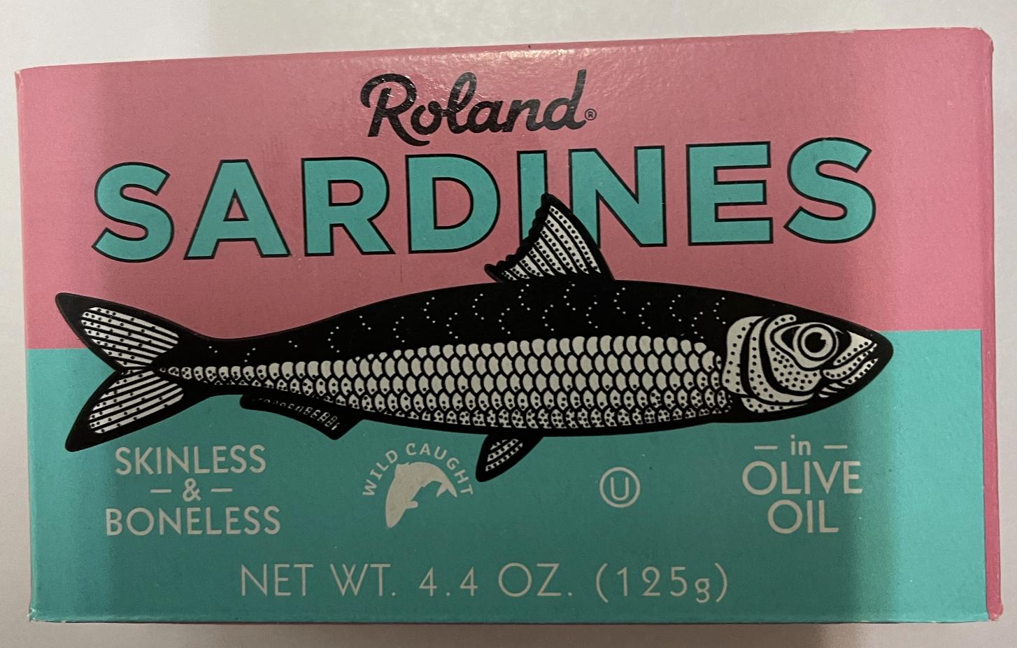 Skinless / Boneless Sardines 4.4 Oz. Roland