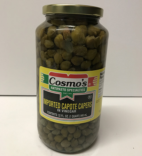 Imported Capers 32oz Jar