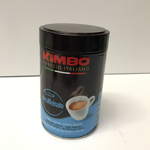 Kimbo Decaffeinated Coffee 8.8oz Can