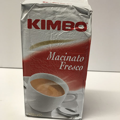 Kimbo Macinato Fresco 8.8oz Brick 2 Pk