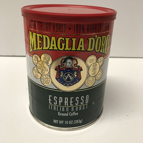 Medaglia D'Oro Coffee 10oz Can