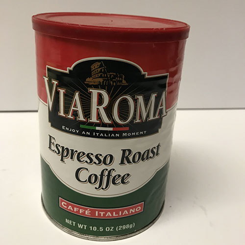 Via Roma Coffee 8.5oz Can