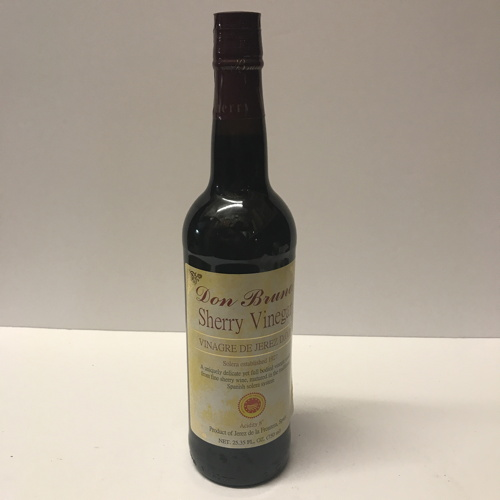 Don Bruno Sherry Wine Vinegar 25.4 Net Fl. Oz.