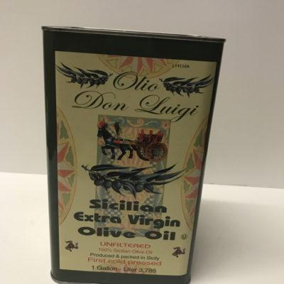 Don Luigi Extra Virgin Olive Oil Unfiltered Gallon