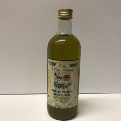 Don Luigi Extra Virgin Olive Oil Filtered Liter