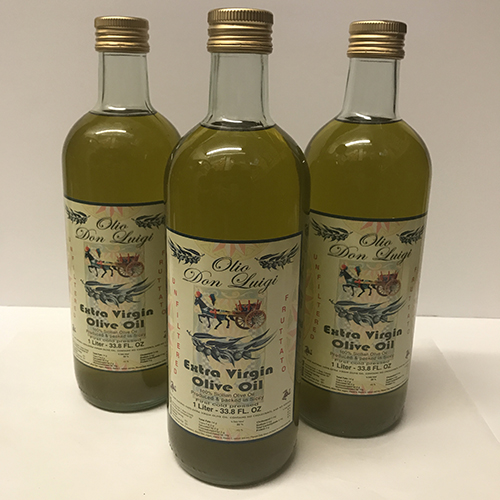 Don Luigi Unfltered Olive Oil Liter