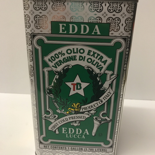 Edda Olive Oil Gallon