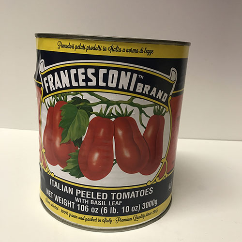 Francesconi Tomatoes 6lb, 9oz Can