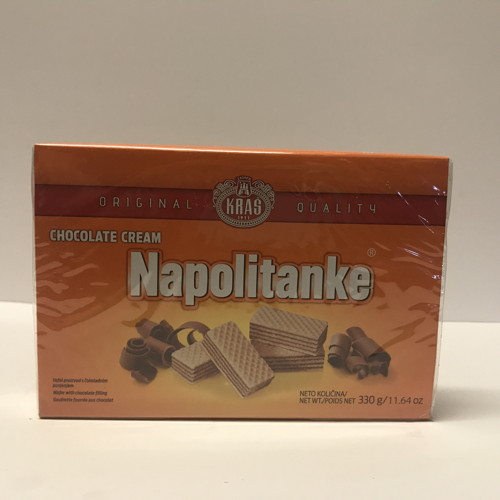 Napolitanke Cookies (Chocolate Cream)