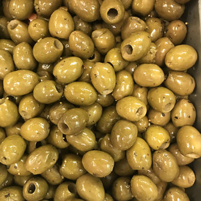 Green Sicilian Pitted Olives